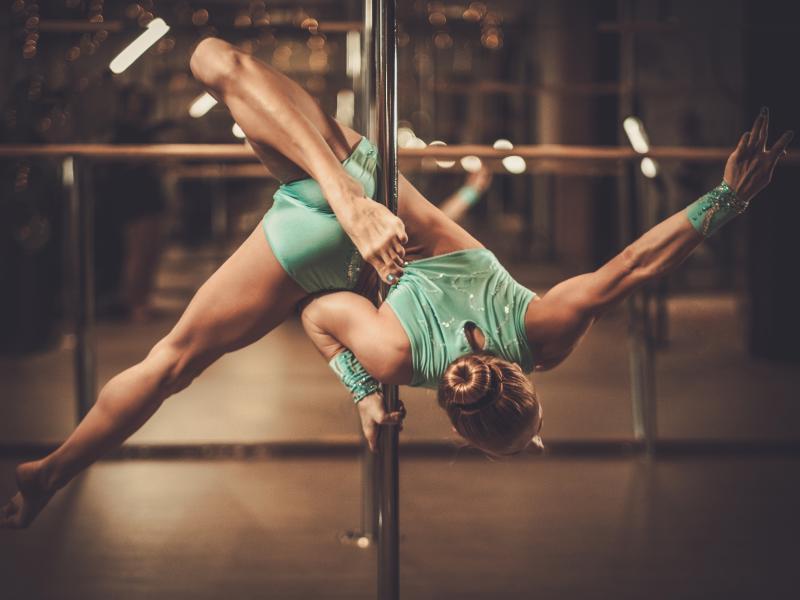 Pole dance sport- taniec na rurze