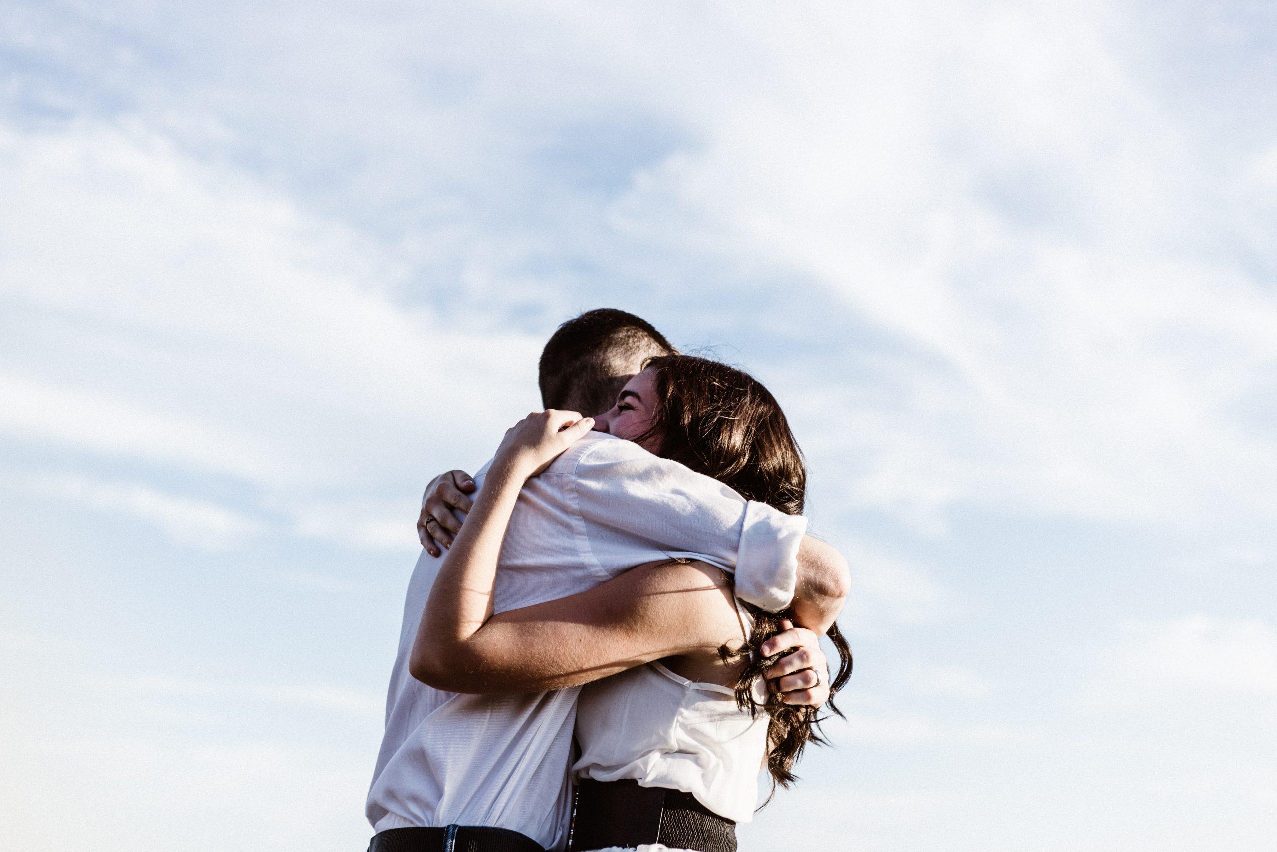 Przytulanie całym ciałem